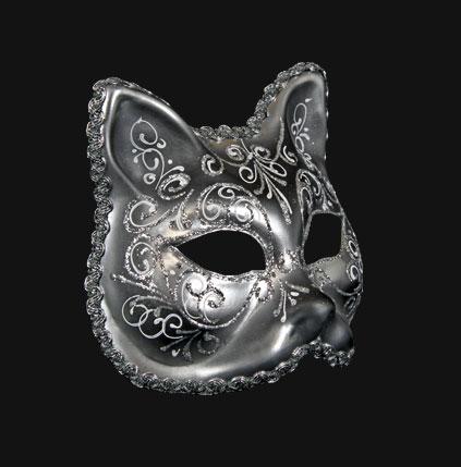 Carta alta maschere veneziane venetian comedy masks per - Pagina colorazione maschera gatto ...